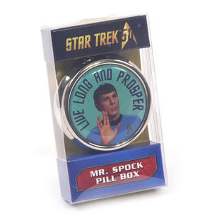 Spock Star Trek Live Long and Prosper Pill Box Thumbnail 2