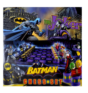 Batman Dark Knight vs The Joker Chess Set by Noble Collection Thumbnail 1