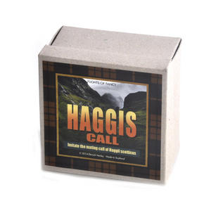 Haggis Call - Carved Wood - Intimate Mating Call of Haggil Scotticus Thumbnail 4