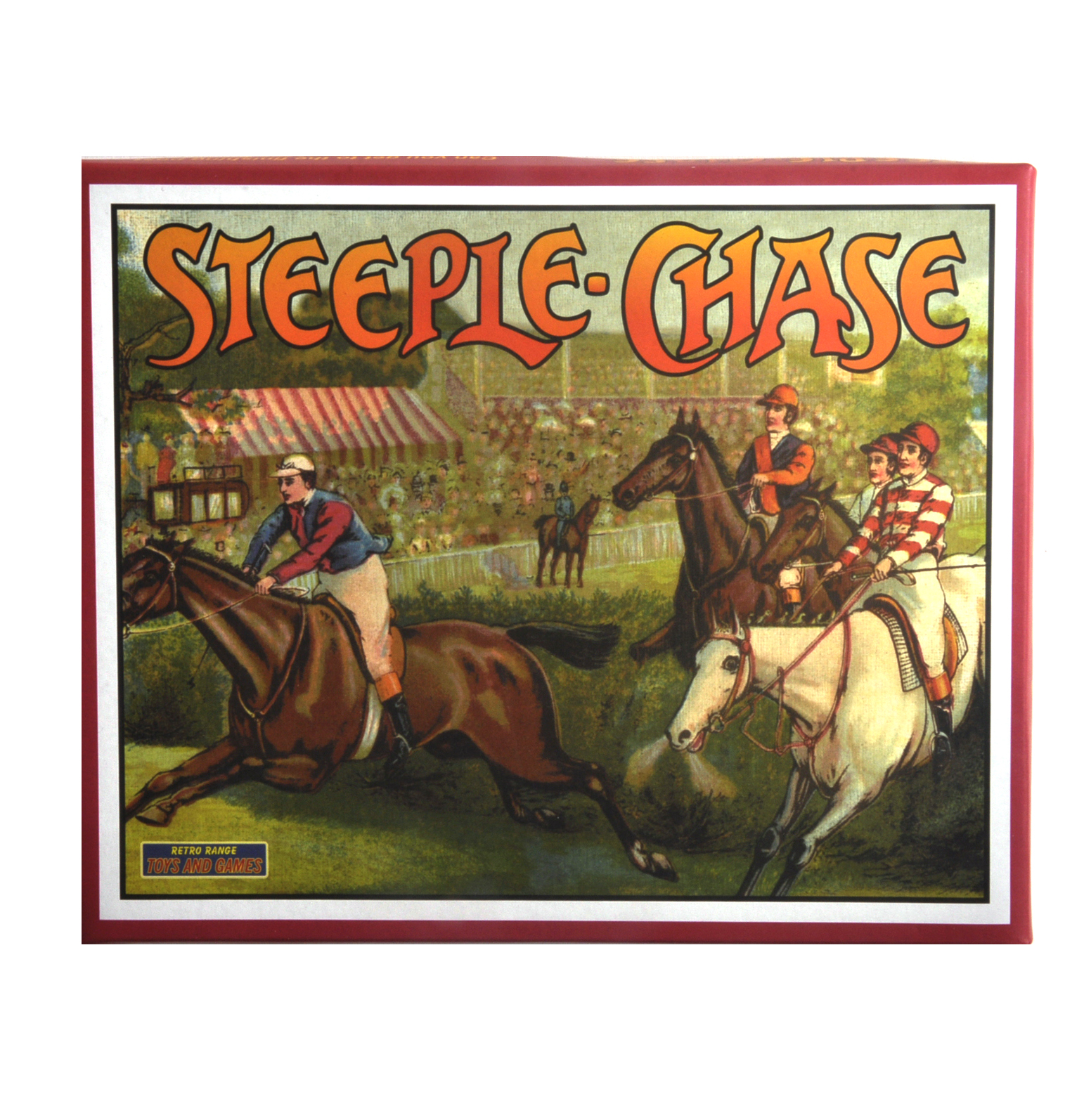 Steeple chase the classic retro game pink cat shop for Steeple chase