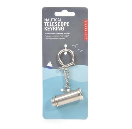 Nautical Telescope Keyring