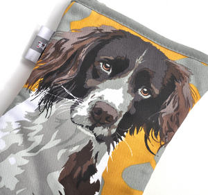 Springer Spaniel Oven Glove Mit Gauntlet by Leslie Gerry Thumbnail 2