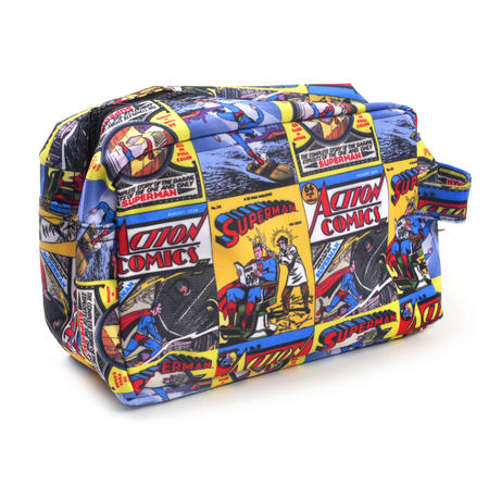 Superman Action Comics - Comic Strip Wash Bag