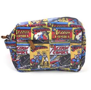 Superman Action Comics - Comic Strip Wash Bag Thumbnail 3
