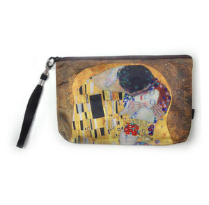 Gustav Klimt - The Kiss - Make Up Bag / Cosmetics Bag / Wash Bag Thumbnail 1