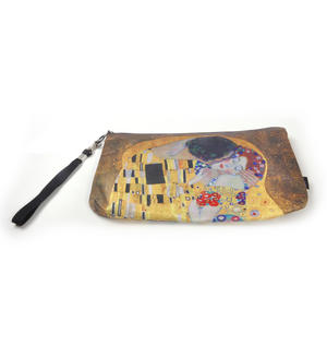 Gustav Klimt - The Kiss - Make Up Bag / Cosmetics Bag / Wash Bag Thumbnail 3