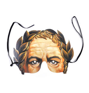 Classic Julius Caesar Roman Emperor Party Mask