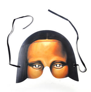 Classic Mona Lisa Party Mask Thumbnail 1