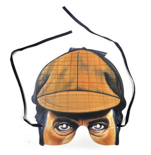 Classic Sherlock Holmes Party Mask Thumbnail 1