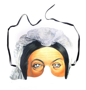 Classic Queen Victoria Party Mask Thumbnail 1