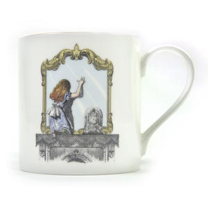 Alice In Wonderland Through the Looking Glass Fine Porcelain Mug Thumbnail 1