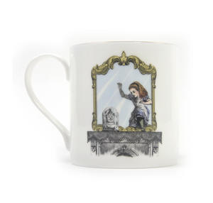 Alice In Wonderland Through the Looking Glass Fine Porcelain Mug Thumbnail 2
