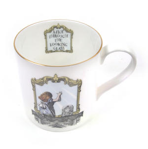 Alice In Wonderland Through the Looking Glass Fine Porcelain Mug Thumbnail 5
