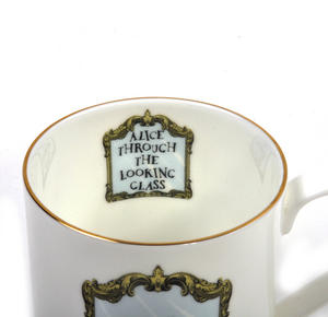 Alice In Wonderland Through the Looking Glass Fine Porcelain Mug Thumbnail 6