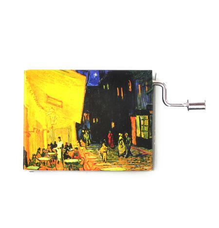 Art Music Box - Vincent Van Gogh - Café de nuit / Tchaikovsky - Waltz of Flowers