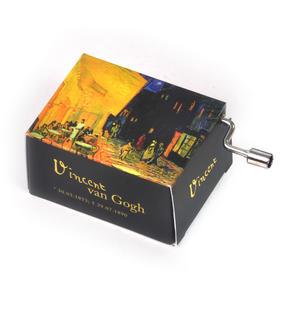 Art Music Box - Vincent Van Gogh - Café de nuit / Tchaikovsky - Waltz of Flowers Thumbnail 2