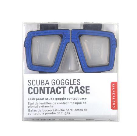 Scuba Contact Lens Case