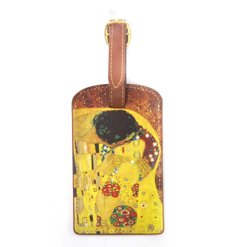 Gustav Klimt - The Kiss Luggage Tag / Bag Identifier