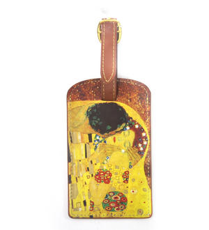 Gustav Klimt - The Kiss Luggage Tag / Bag Identifier Thumbnail 1