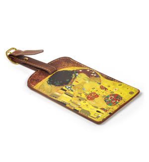 Gustav Klimt - The Kiss Luggage Tag / Bag Identifier Thumbnail 3