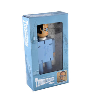 Brains Flexi Figure - Thunderbirds Classic Action Figure Thumbnail 1