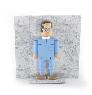 Brains Flexi Figure - Thunderbirds Classic Action Figure Thumbnail 3