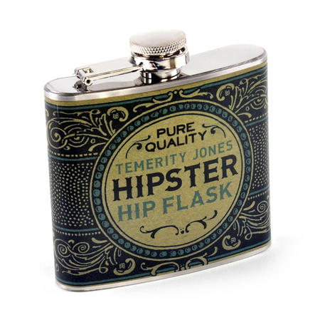 Gentleman's Hipster Hip Flask