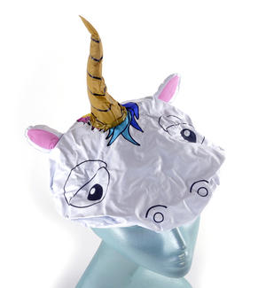 Unicorn Bath & Shower Cap / Swim Cap Thumbnail 4