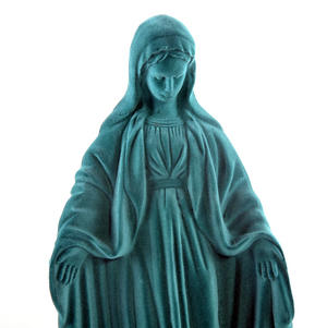 Virgin Mary Velour Money Box Thumbnail 2