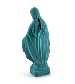 Virgin Mary Velour Money Box Thumbnail 4