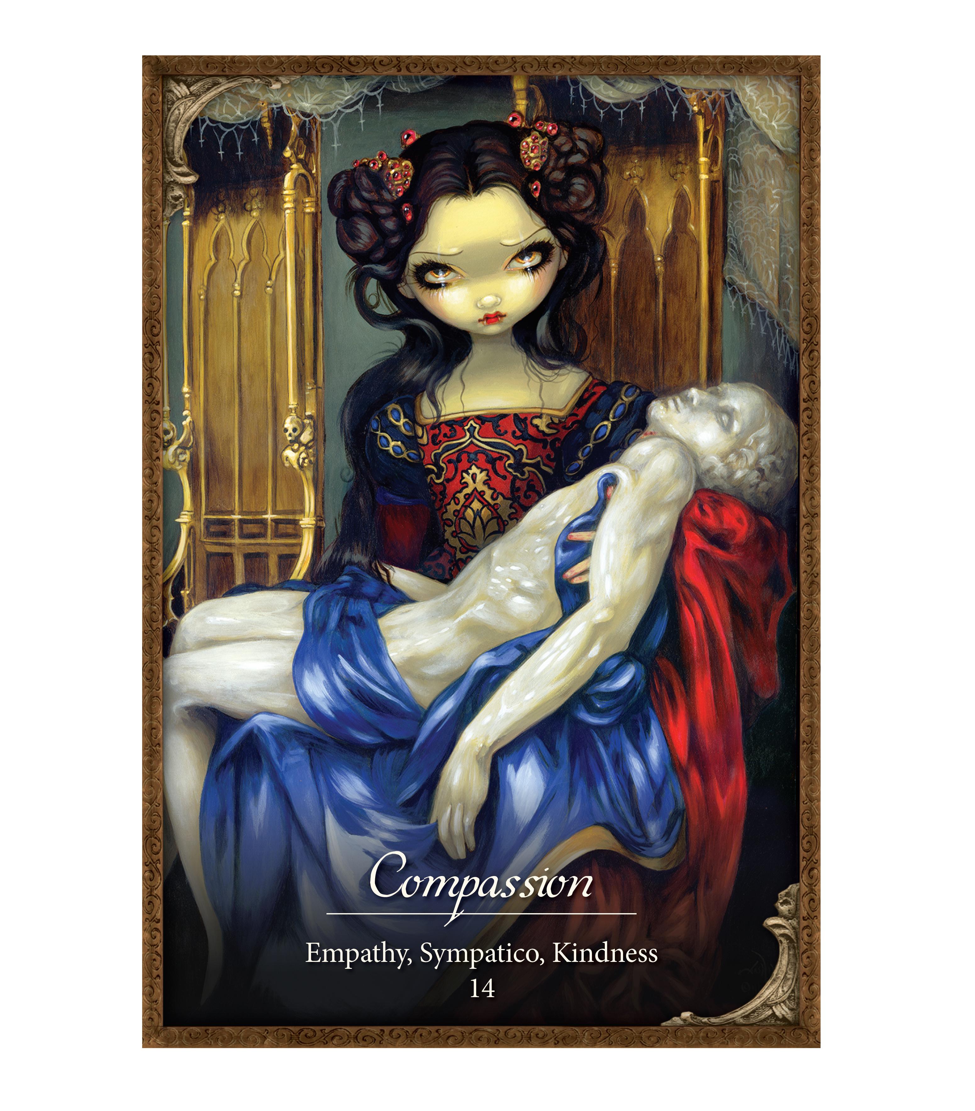 Les Vampires Oracle Cards Amp Guidebook By Jasmine Becket