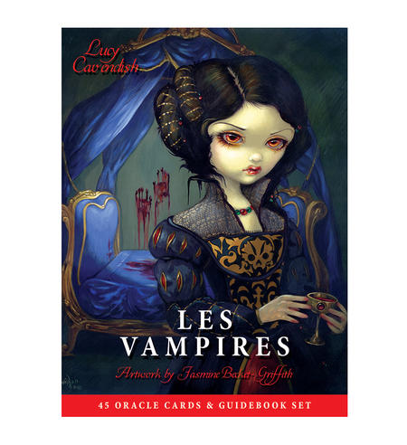 Les Vampires Oracle Cards & Guidebook by Jasmine Becket-Griffith & Lucy Cavendish