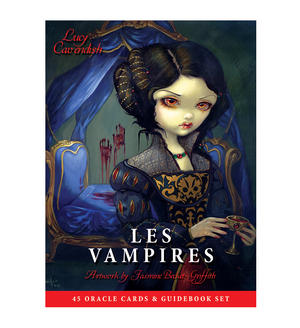 Les Vampires Oracle Cards & Guidebook by Jasmine Becket-Griffith & Lucy Cavendish Thumbnail 1