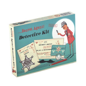 Secret Agent Detective Kit - Top Secret Retro Spy Detective Set Thumbnail 4