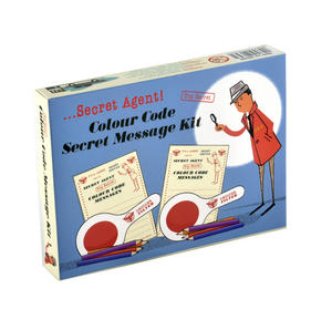 Secret Agent Colour Code Secret Message Kit - Top Secret Retro Spy Detective Set Thumbnail 4