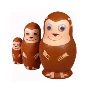Painta Pet Monkeys - Paint Your Own Russian Doll Set Thumbnail 3