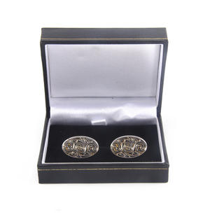 Cufflinks - Celtic Swirl Pewter Thumbnail 2