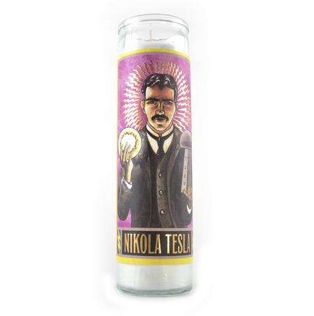 Nikola Tesla Candle
