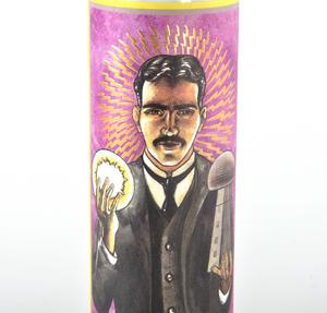 Nikola Tesla Candle Thumbnail 2