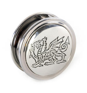 Welsh Dragon Pewter Desk Magnifier Thumbnail 2