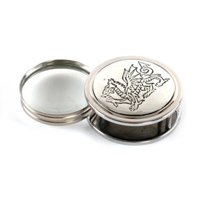 Welsh Dragon Pewter Desk Magnifier Thumbnail 3