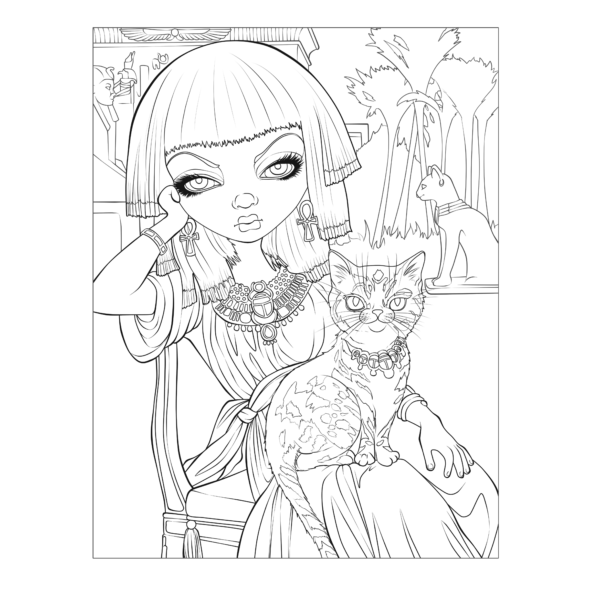 Jasmine Becket Griffith Colouring
