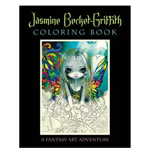Jasmine Becket- Griffith Colouring Book Thumbnail 1