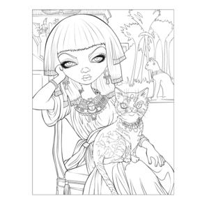Jasmine Becket- Griffith Colouring Book Thumbnail 3