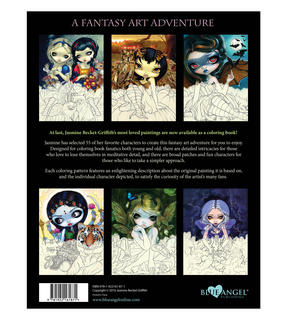 Jasmine Becket- Griffith Colouring Book Thumbnail 4