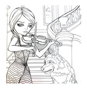 Jasmine Becket- Griffith Colouring Book Thumbnail 7