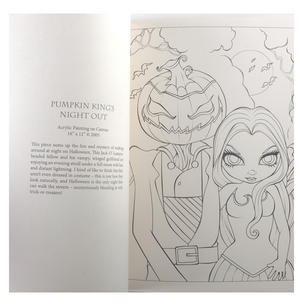 Jasmine Becket- Griffith Colouring Book Thumbnail 8