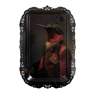 Ambroise - Galerie De Portraits - Le grand theatre - Surreal Wall Tray Art Masterwork by iBride Thumbnail 1