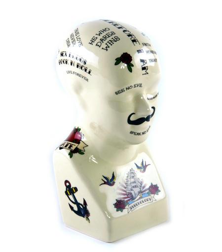 Carnival Phrenology Head