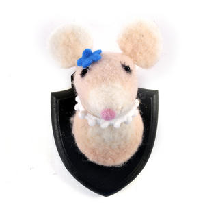 Lady Mouse Trophy Wall Plaque Thumbnail 1